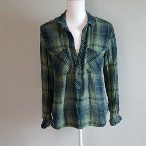 Cloth & Stone Flannel Tunic